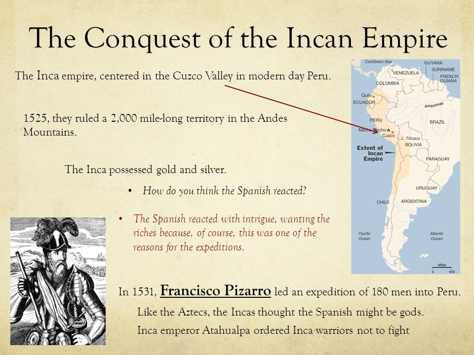 one reason the spanish conquistadors we They also introduced the spanish language to an area with a variety of  indigenous  as a new book puts it, the spanish conquest was the most drastic  clash of civilizations in mexican history mexican  reason for survival.