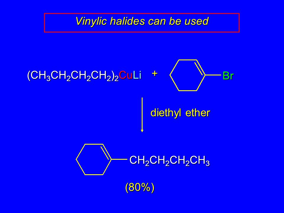14 11 Alkane Synthesis Using Organocopper Reagents Ppt