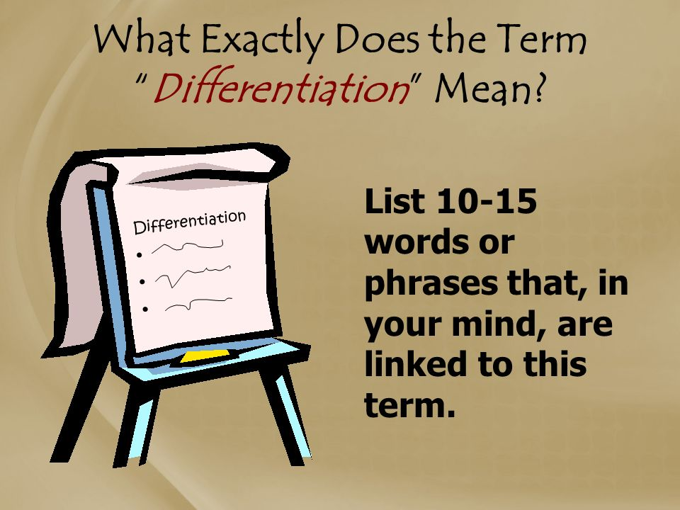 Term Papers Differentiated Instruction Homework Service