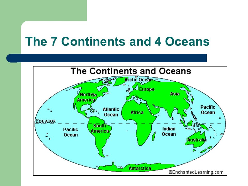 Compass Rose Ppt Download - Earth's four oceans