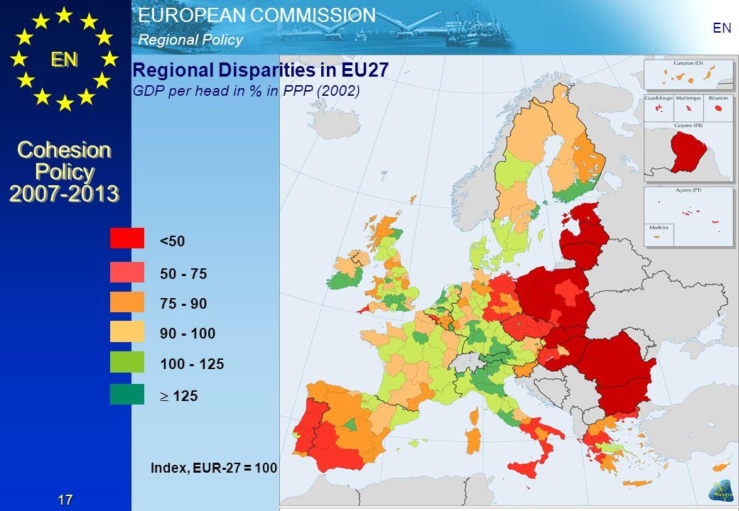 Regional Disparities in EU27