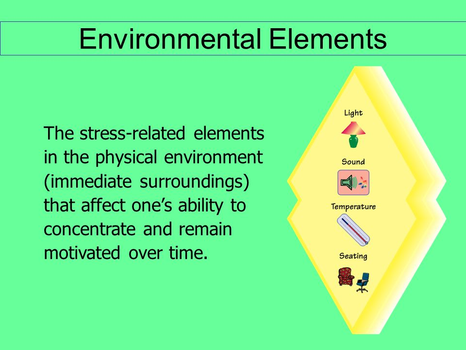 environmental elements education Education: an applied framework, is a superb introduction to the p o l i c y -making process for both experienced and new planners (as well as scholars, researchers, and other administrators who will.