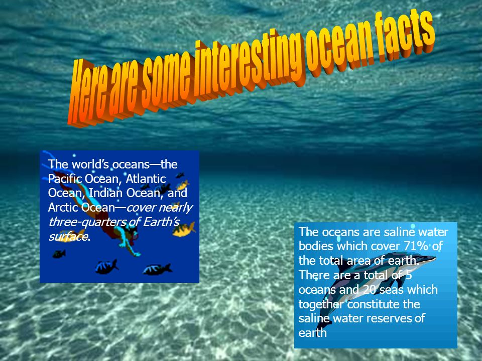 This Power Point Is All About The Oceans Around The World Ppt - Oceans around the world