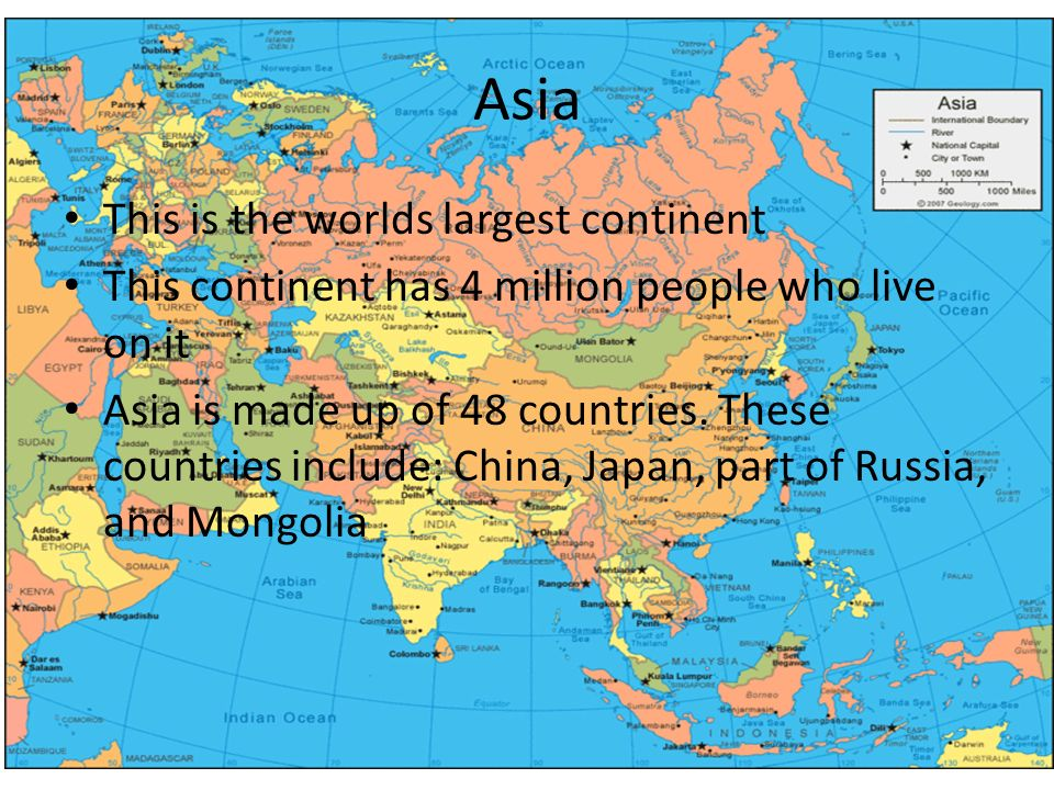 The Seven Continents Of The World Ppt Video Online Download - What is the biggest continent