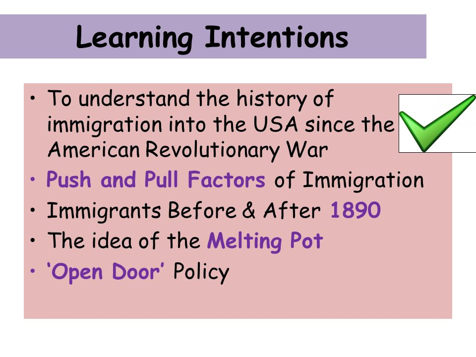 a history and understanding of the immigrants Do we really want immigrants to but in fact they don't understand the concept or its on the strife occasioned by mass immigration throughout our history.