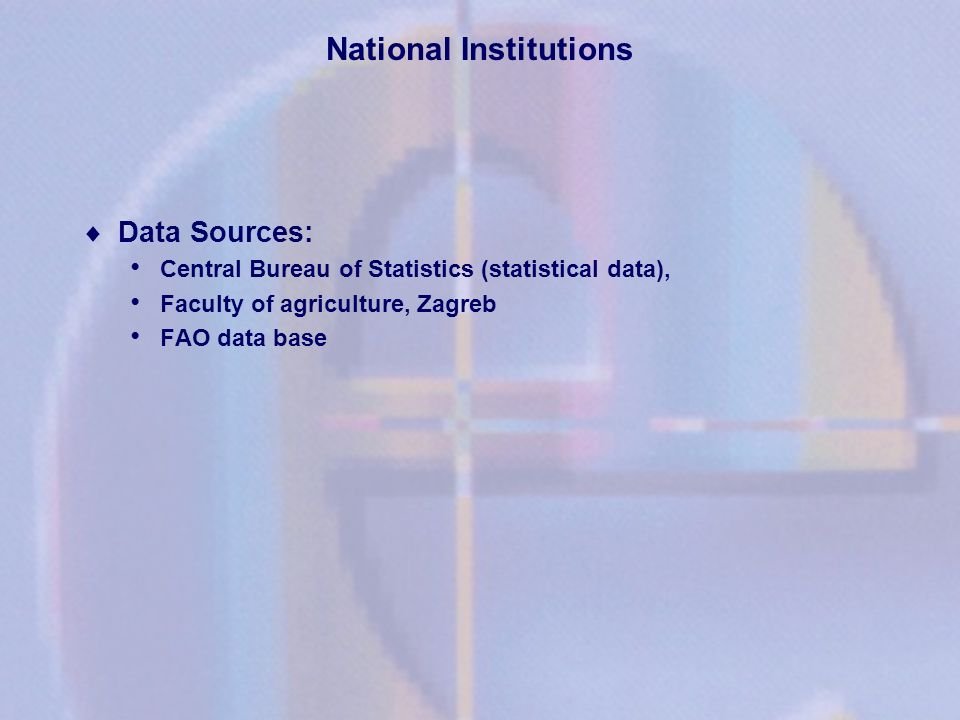 National Institutions