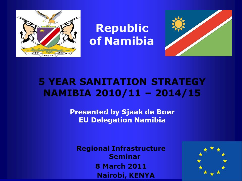 Republic of Namibia 5 YEAR SANITATION STRATEGY