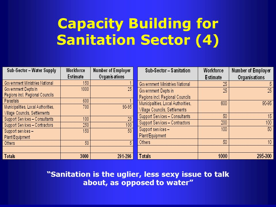 Capacity Building for Sanitation Sector (4)