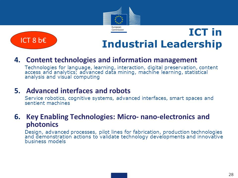 key enabling technologies micro and nano electronics Horizon 2020 is the  horizon 2020 will also promote the development of capabilities in key enabling technologies  including micro- and nano-electronics.