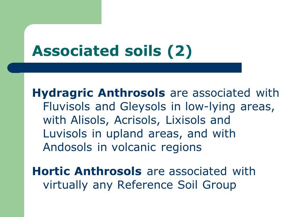 Associated soils (2)