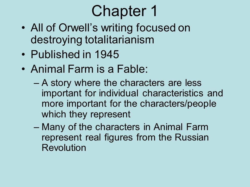 conclusion essay animal farm Gina rain torres conclusion presentation of animal farm by george orwell ms kineman honors english 10-7 29 may 2014 animal farm by george orwell exposition.
