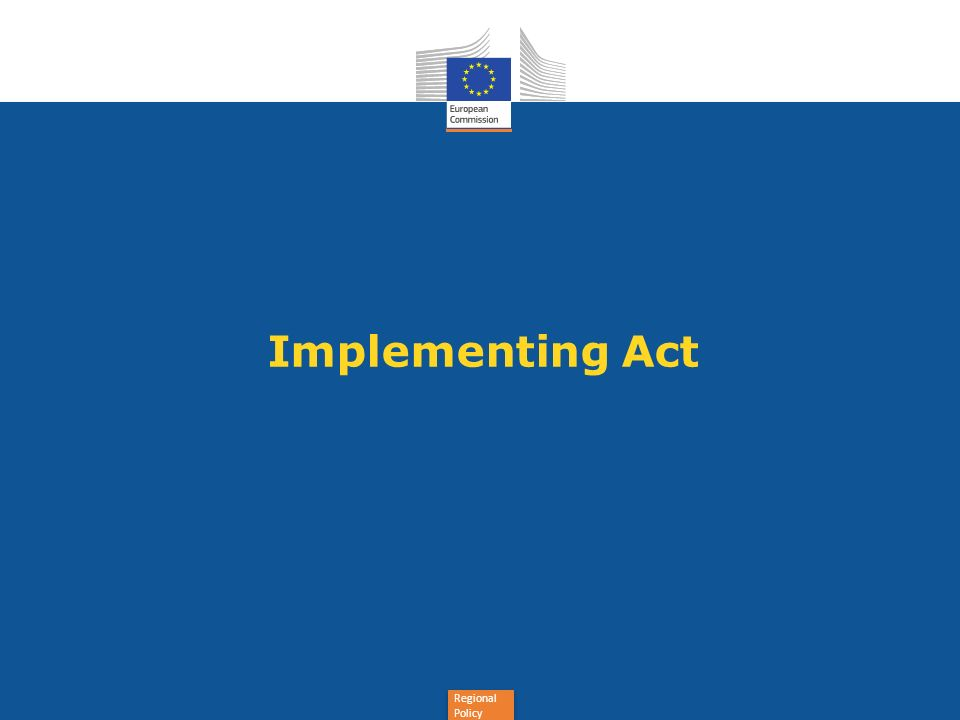 Implementing Act
