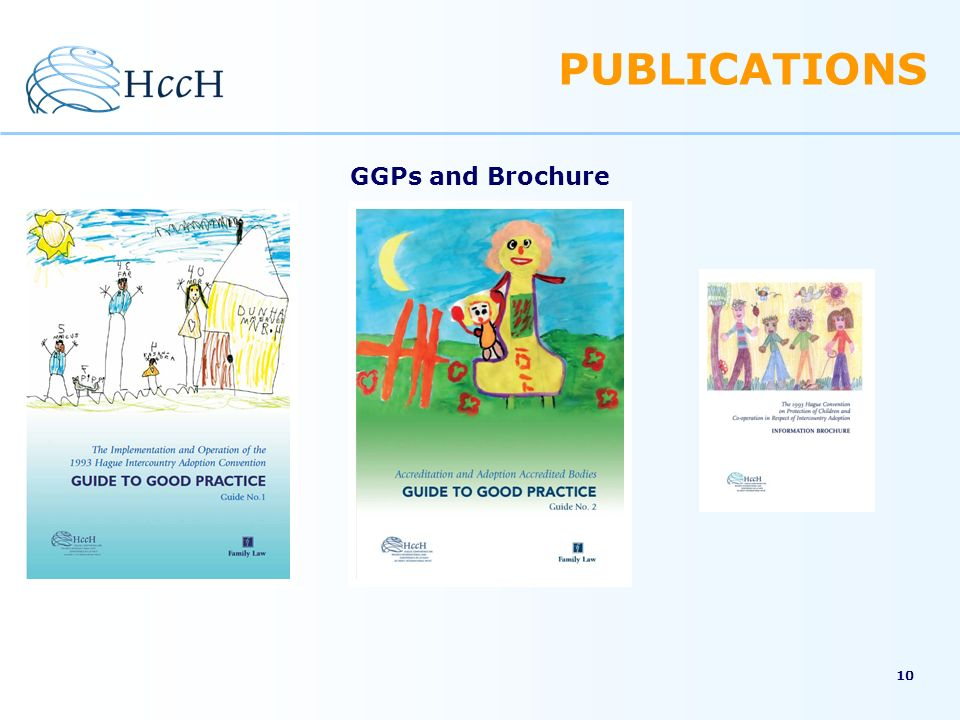 PUBLICATIONS GGPs and Brochure 10