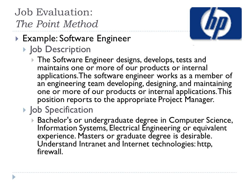 Evaluating Work Job Evaluation Ppt Video Online Download