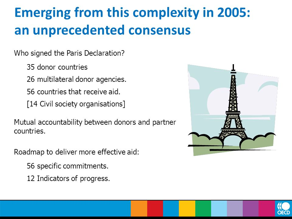Emerging from this complexity in 2005: an unprecedented consensus
