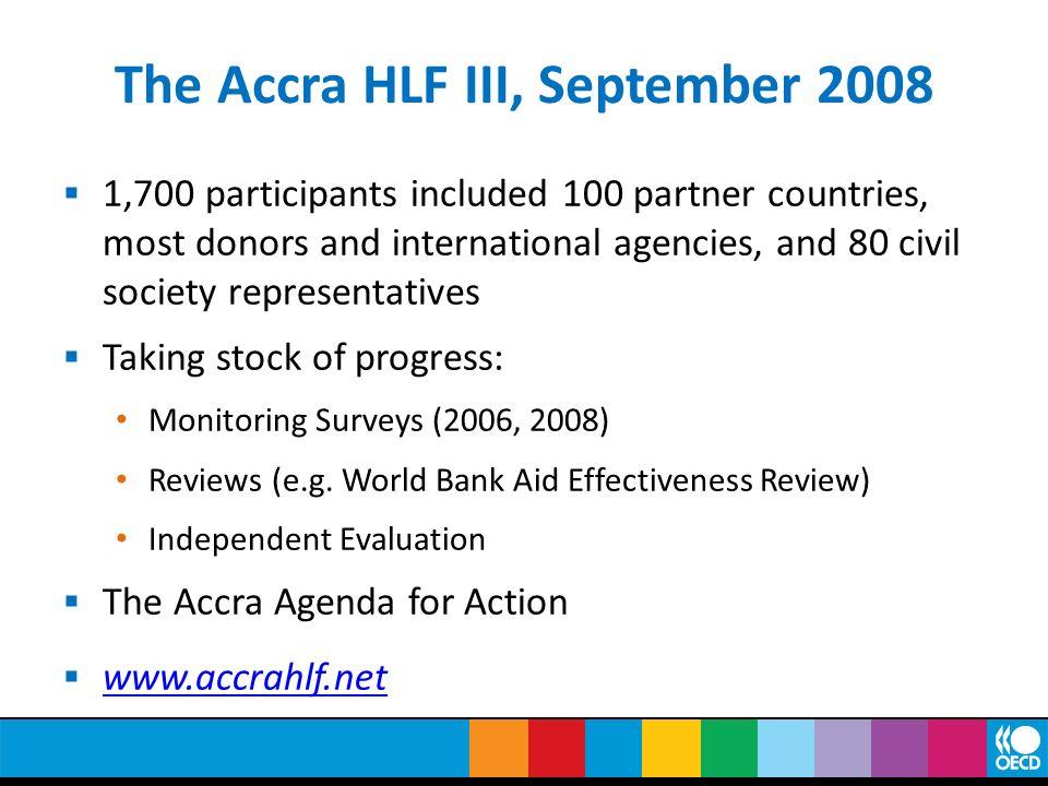 The Accra HLF III, September 2008