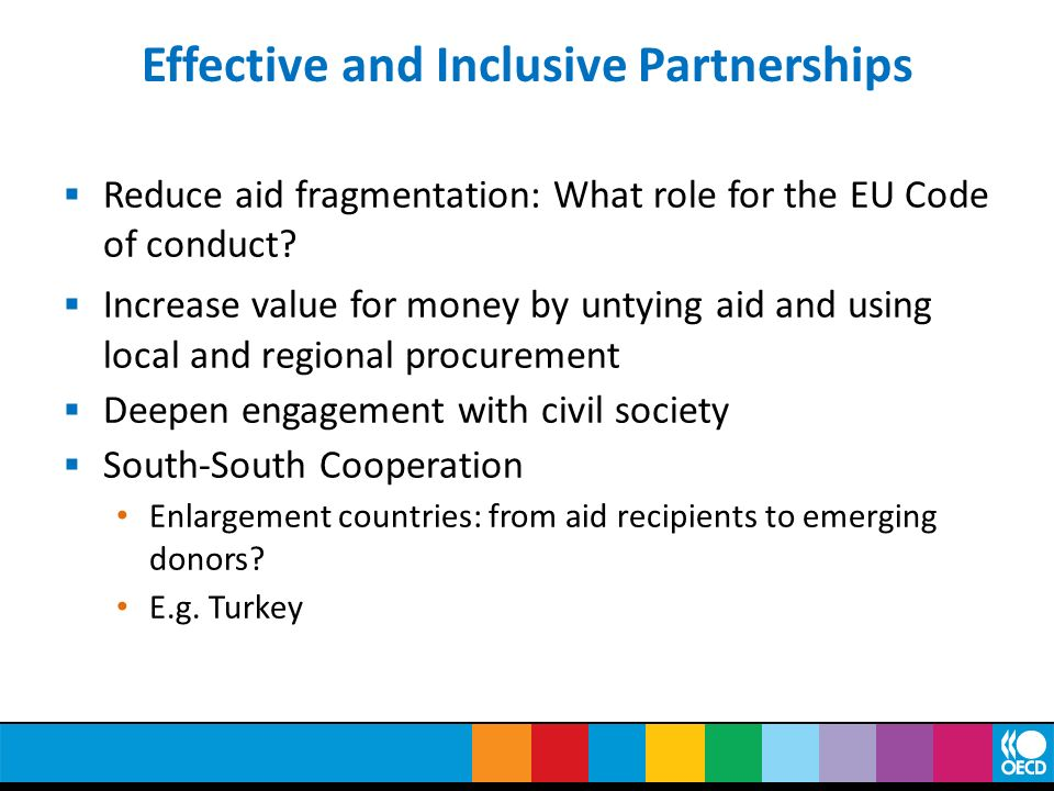 Effective and Inclusive Partnerships