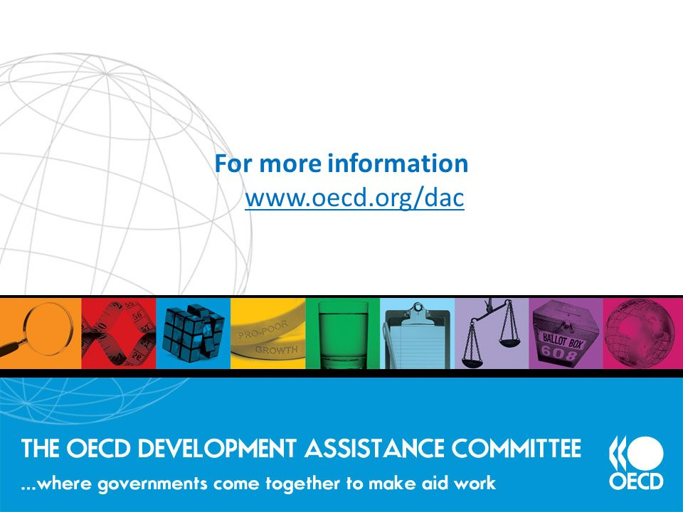 For more information www.oecd.org/dac