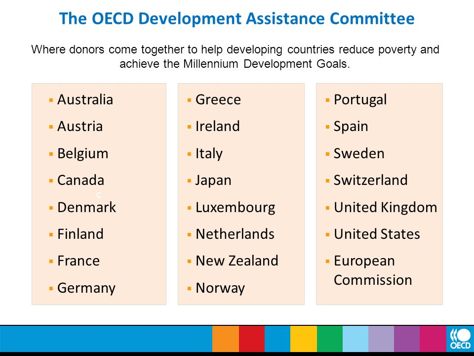 The OECD Development Assistance Committee