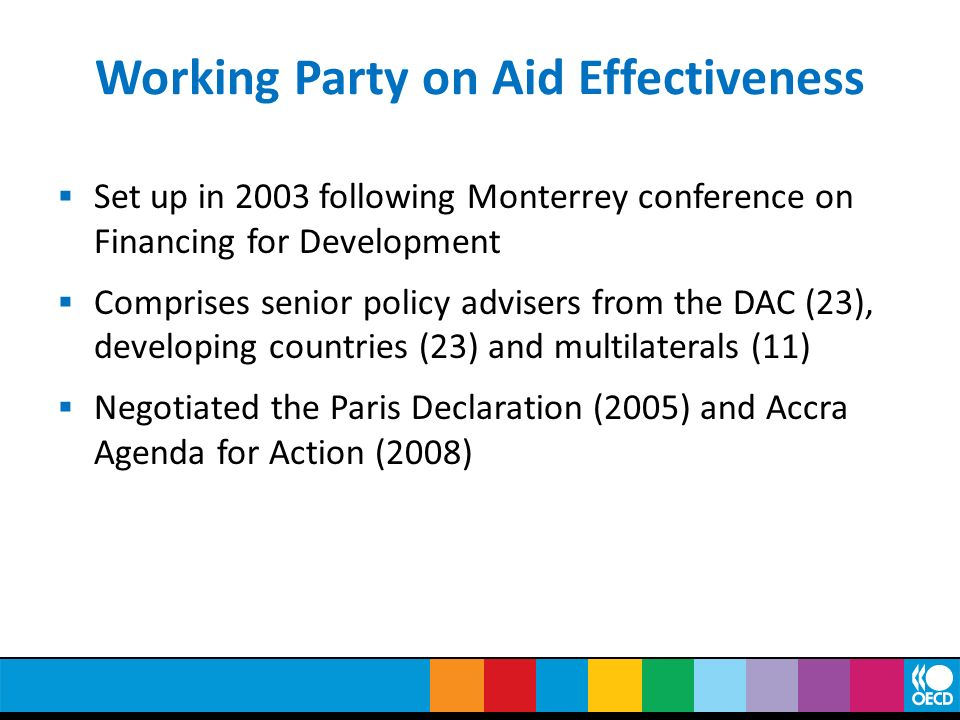 Working Party on Aid Effectiveness
