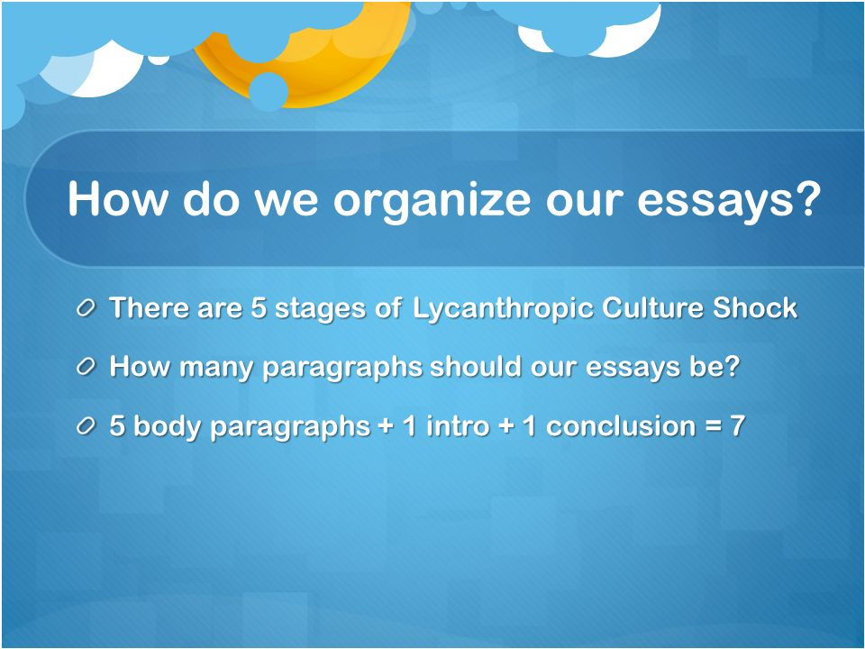 st lucy s final essay ppt video online  how do we organize our essays