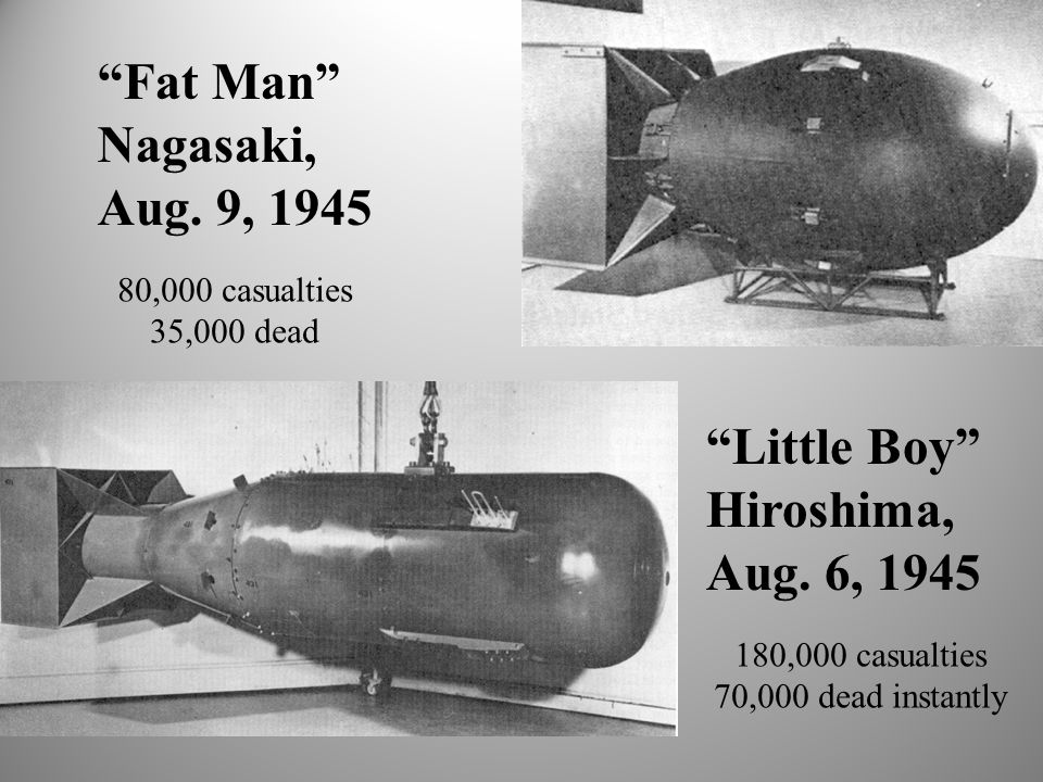 Resultado de imagen para hiroshima little boy