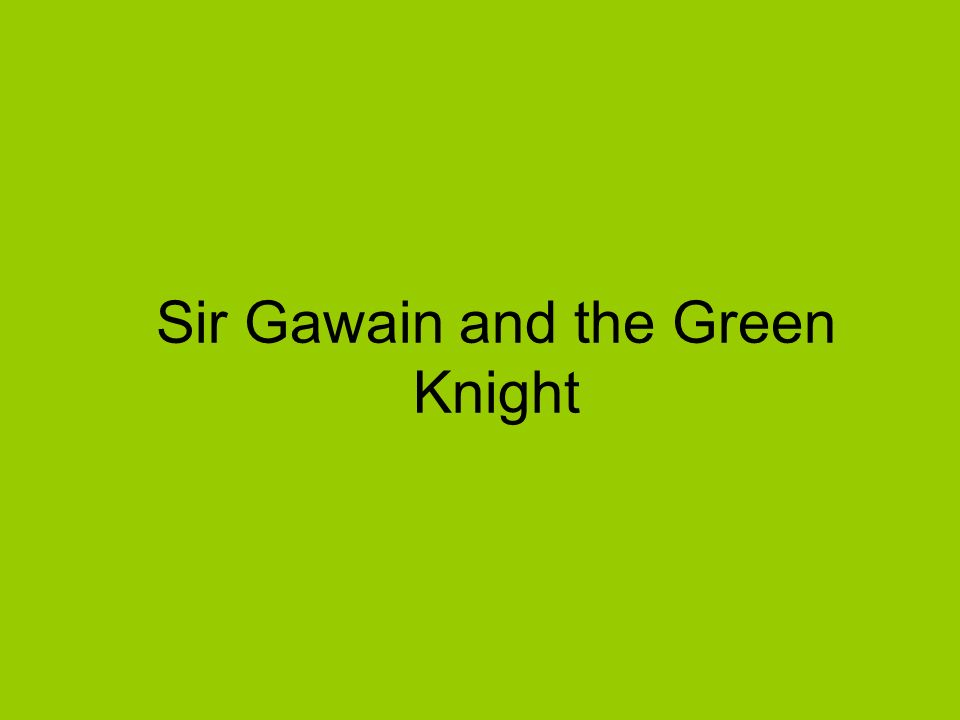 sir gawain and the green knight medieval romance essay A medieval romance about sir gawain, a knight of king arthur's round table sir gawain and the green knight medieval romance a poem written in verse.