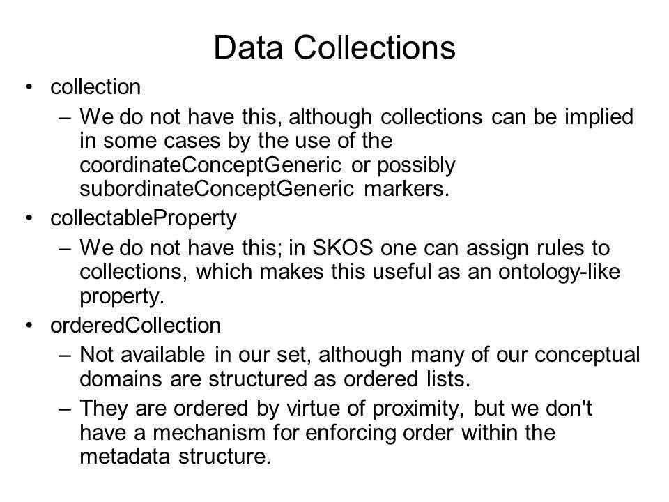 Data Collections collection