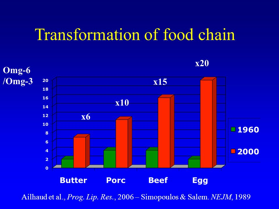 Transformation of food chain
