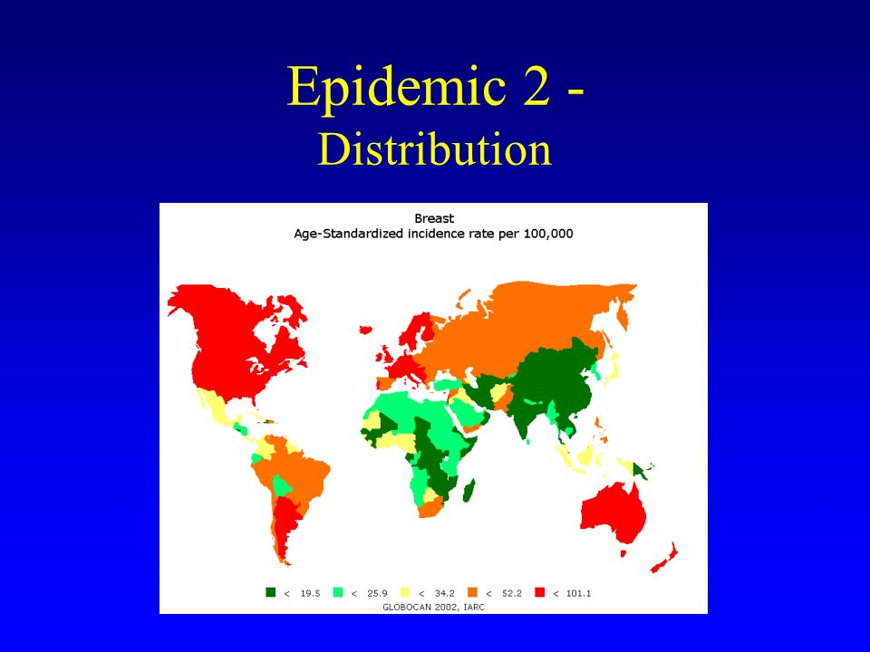Epidemic 2 - Distribution