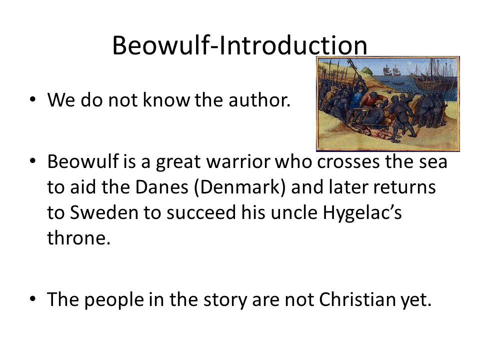 good introduction beowulf essay