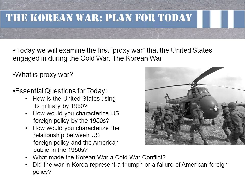 Foreign Policy Usa - During Cold War