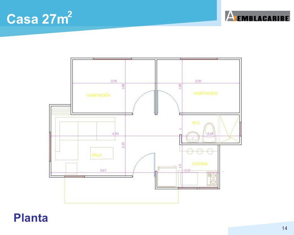 2 Casa 27m Planta
