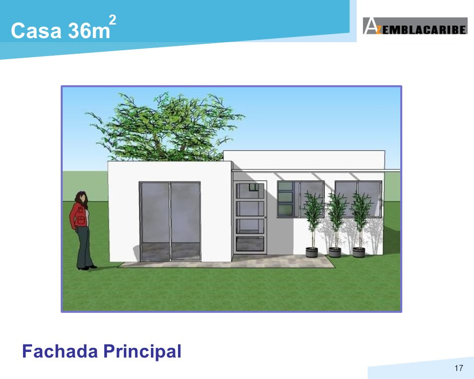 2 Casa 36m Fachada Principal