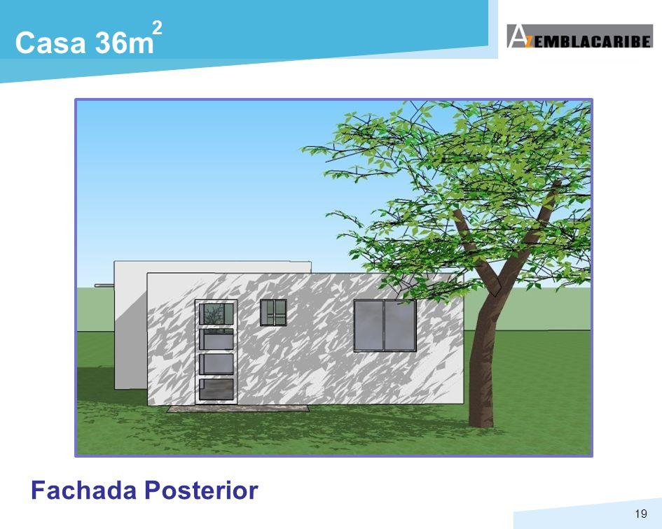 2 Casa 36m Fachada Posterior