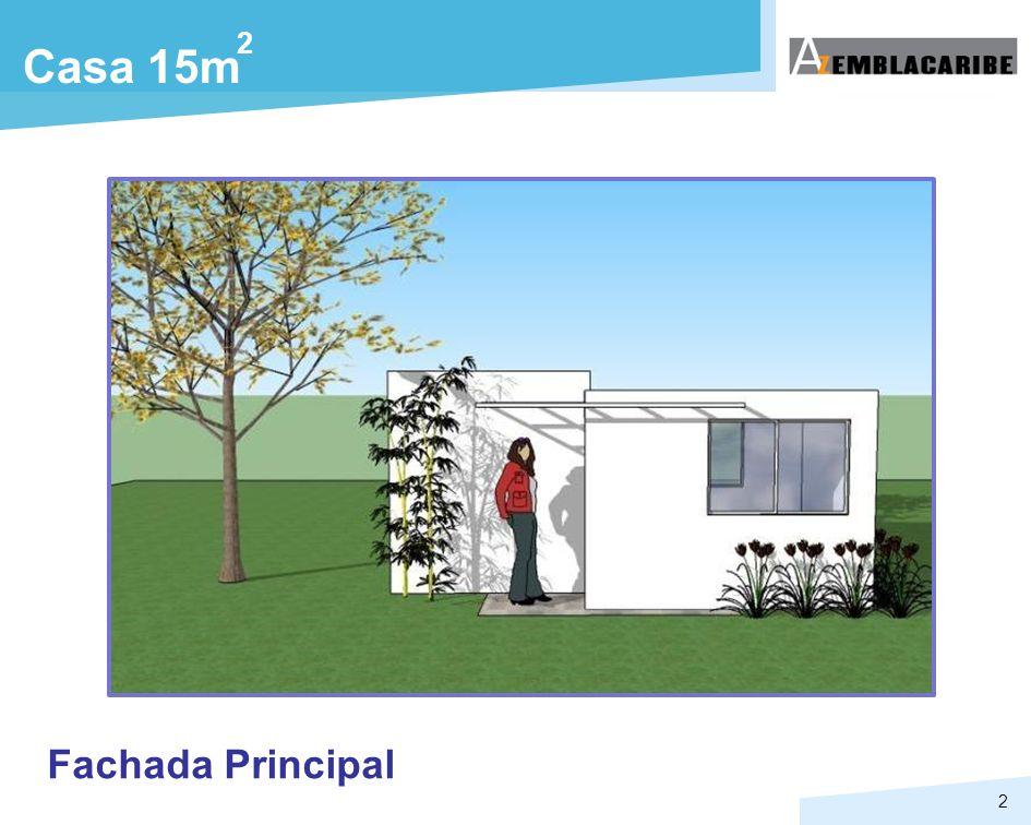 2 Casa 15m Fachada Principal
