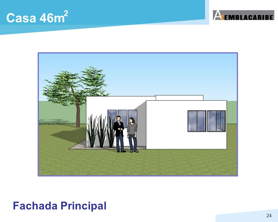 2 Casa 46m Fachada Principal