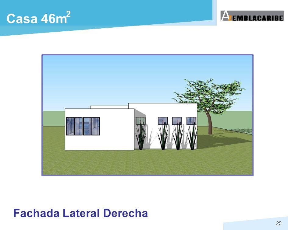 2 Casa 46m Fachada Lateral Derecha