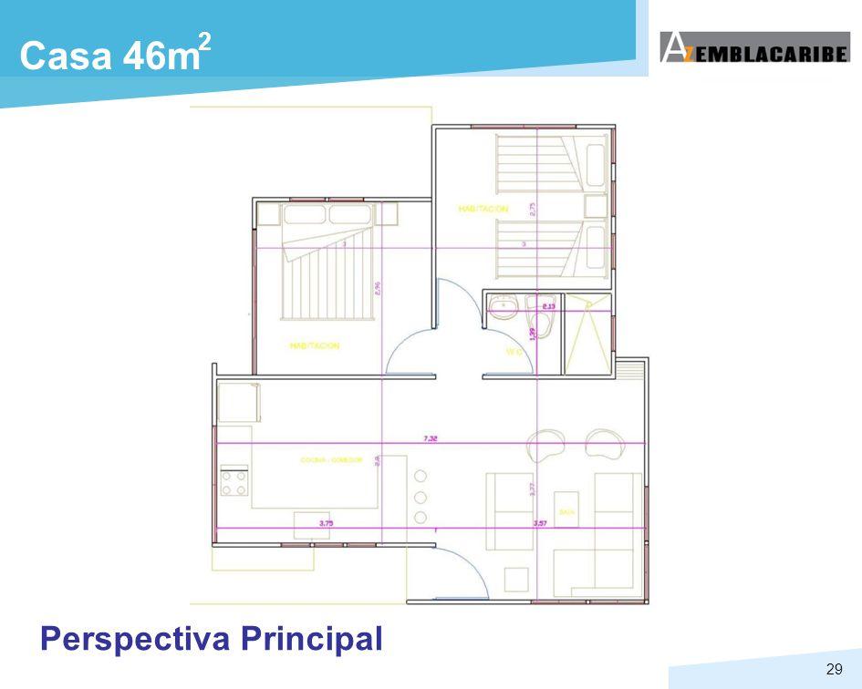 2 Casa 46m Perspectiva Principal