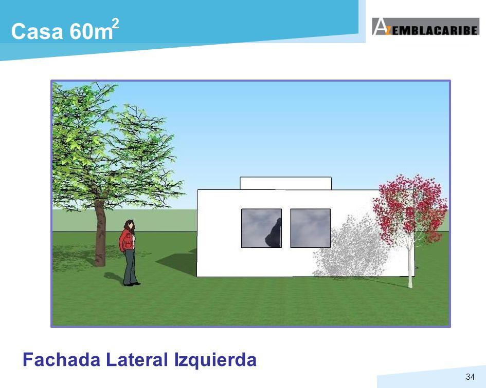 2 Casa 60m Fachada Lateral Izquierda