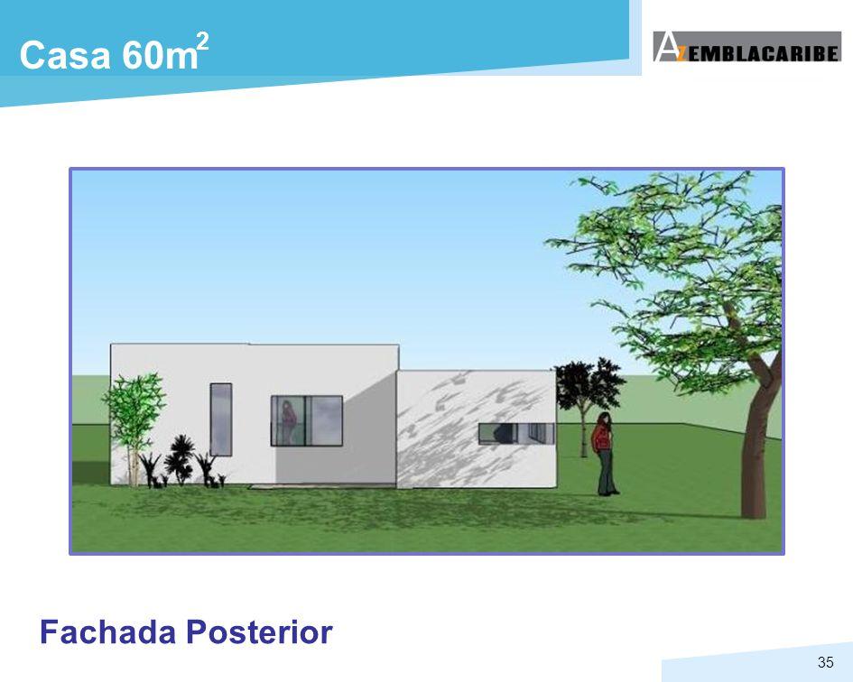 2 Casa 60m Fachada Posterior