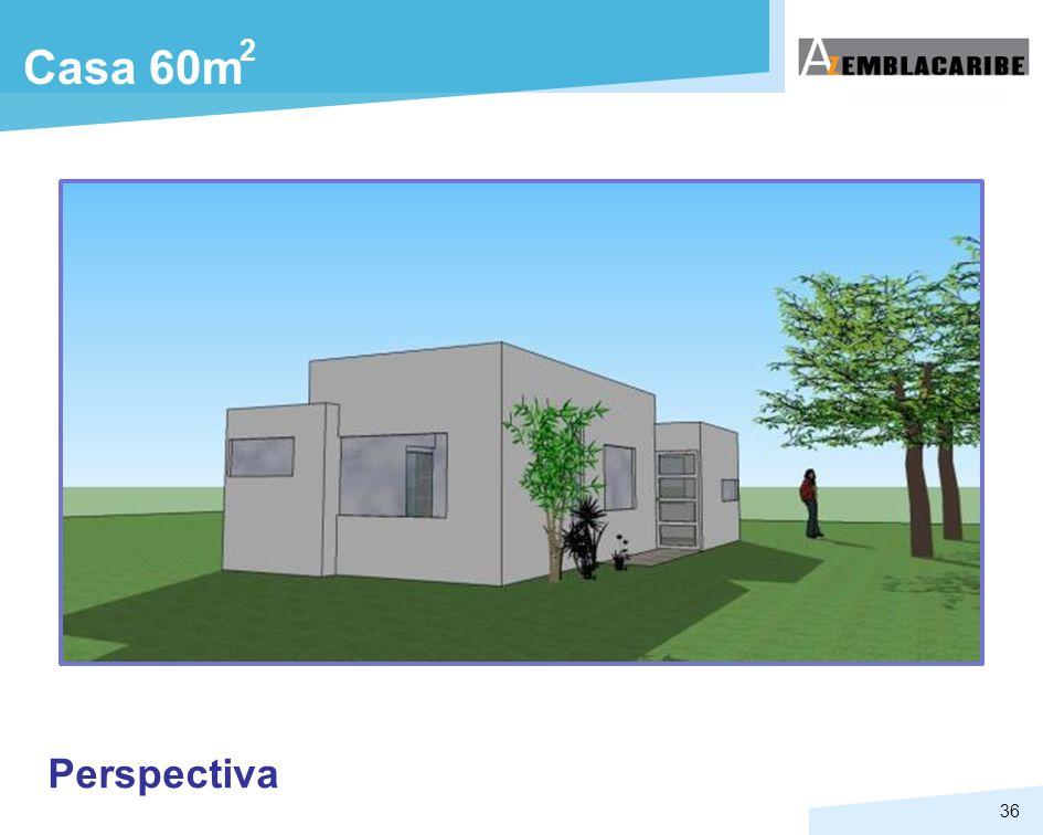 2 Casa 60m Perspectiva