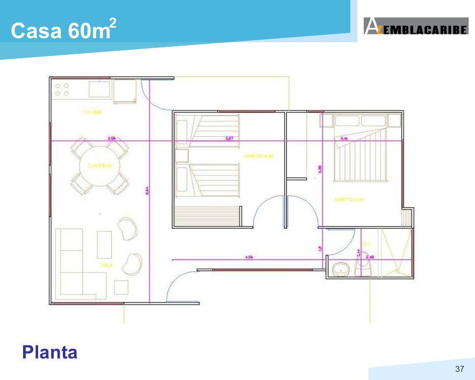 2 Casa 60m Planta