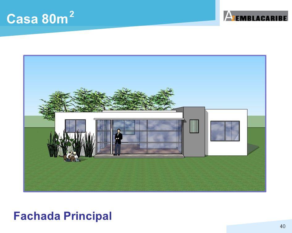 2 Casa 80m Fachada Principal