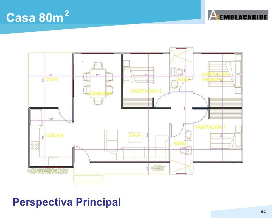 2 Casa 80m Perspectiva Principal