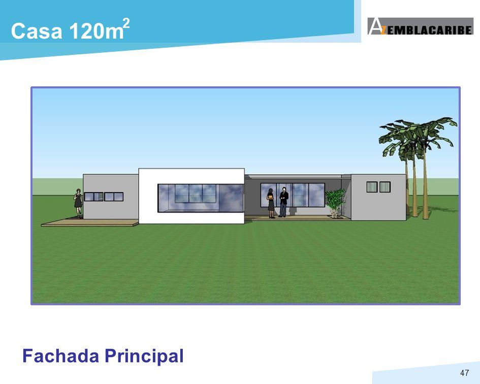 2 Casa 120m Fachada Principal