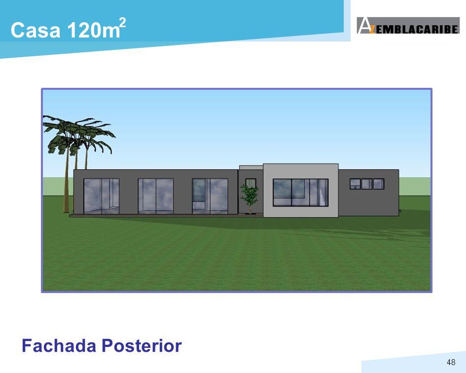 2 Casa 120m Fachada Posterior