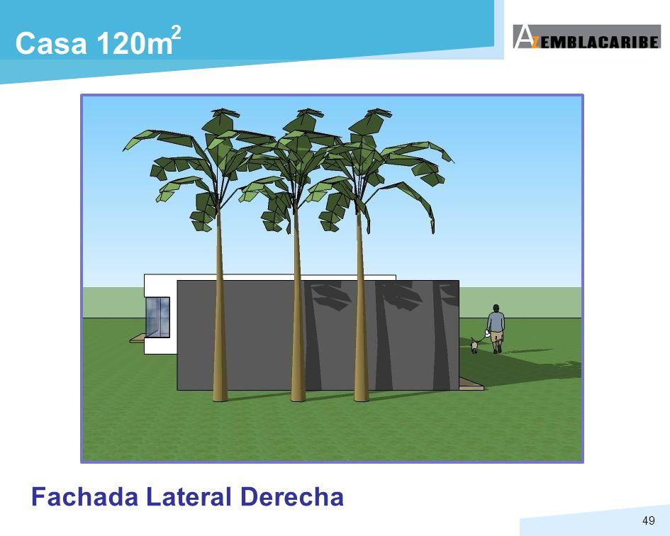 2 Casa 120m Fachada Lateral Derecha