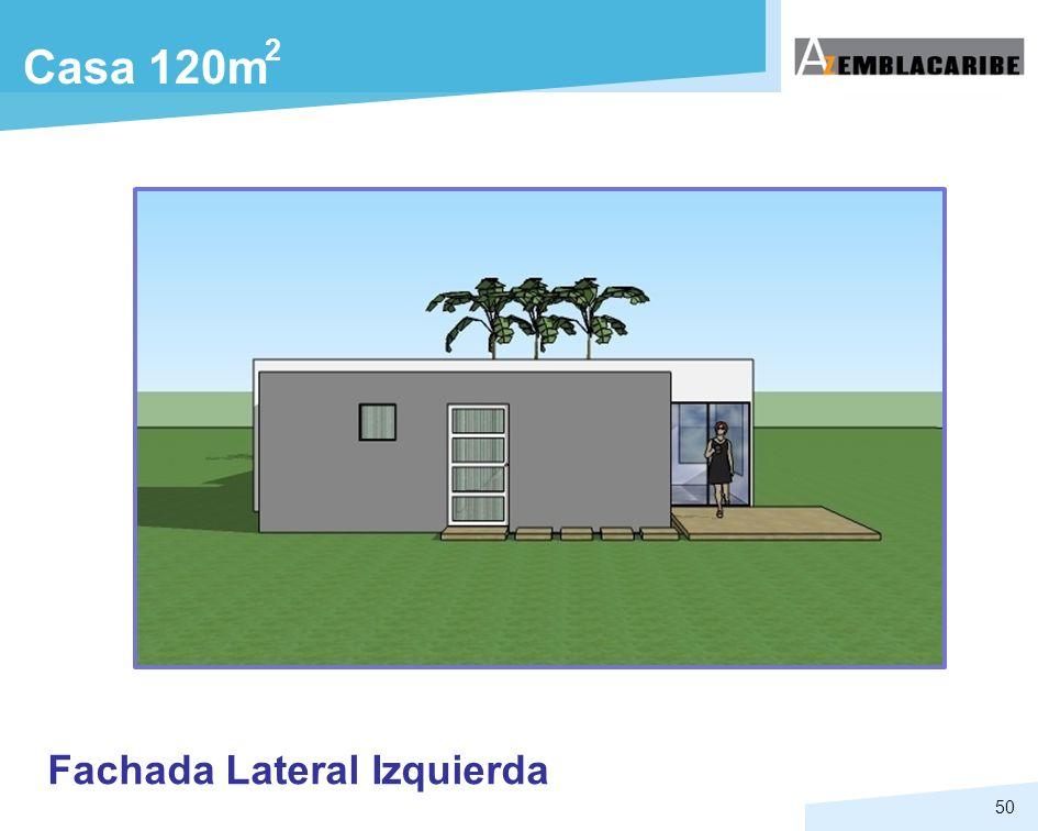 2 Casa 120m Fachada Lateral Izquierda