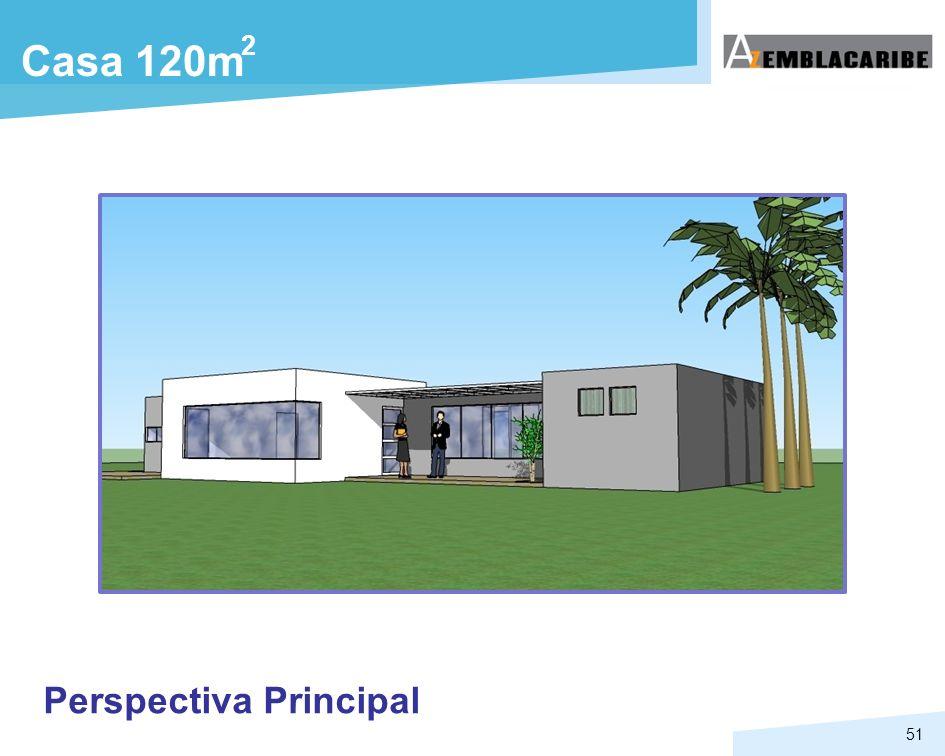 2 Casa 120m Perspectiva Principal